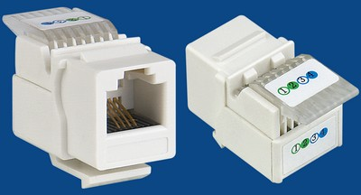 TM-4005 Connettori RJ11 Voice keystone jack TM-4005 Cat3 Connettori RJ11 Voice keystone jack - RJ11/12 (CAT3) Voice Keystone Jacksfornitore della Cina